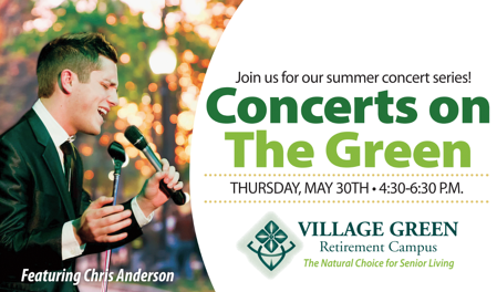 Chris Anderson Sings Village Green