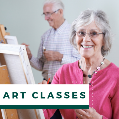 Village Green Events & Activities - Art Classes