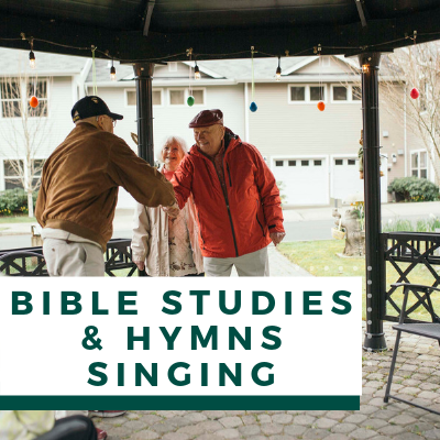 Village Green Events & Activities - Bible Studies & Hymns Singing