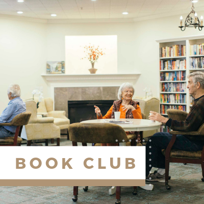 Village Green Events & Activities - Book Club