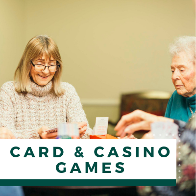 Village Green Events & Activities - Card & Casino Games