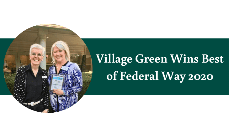 Village Green Wins Best of Federal Way 2020