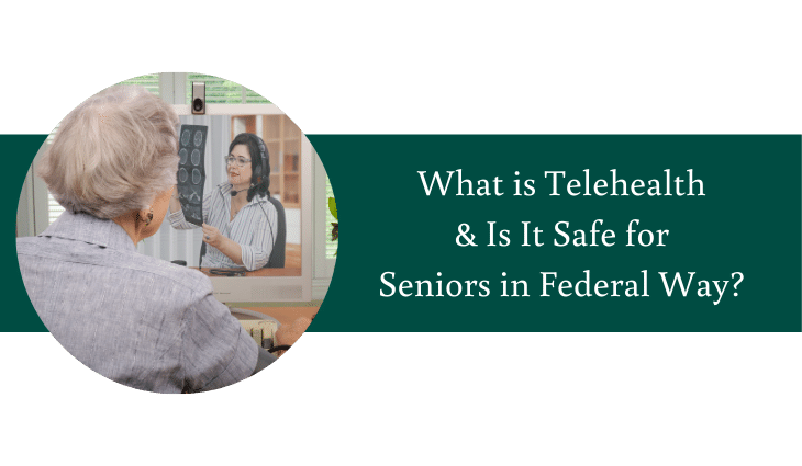 What is Telehealth and is it Safe for Seniors in Federal Way? | Village Green Retirement Campus