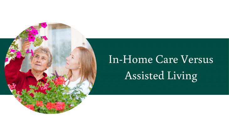 In-Home Care versus Assisted Living in Federal Way