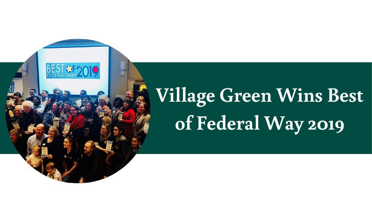 Village Green Wins Best of Federal Way 2019